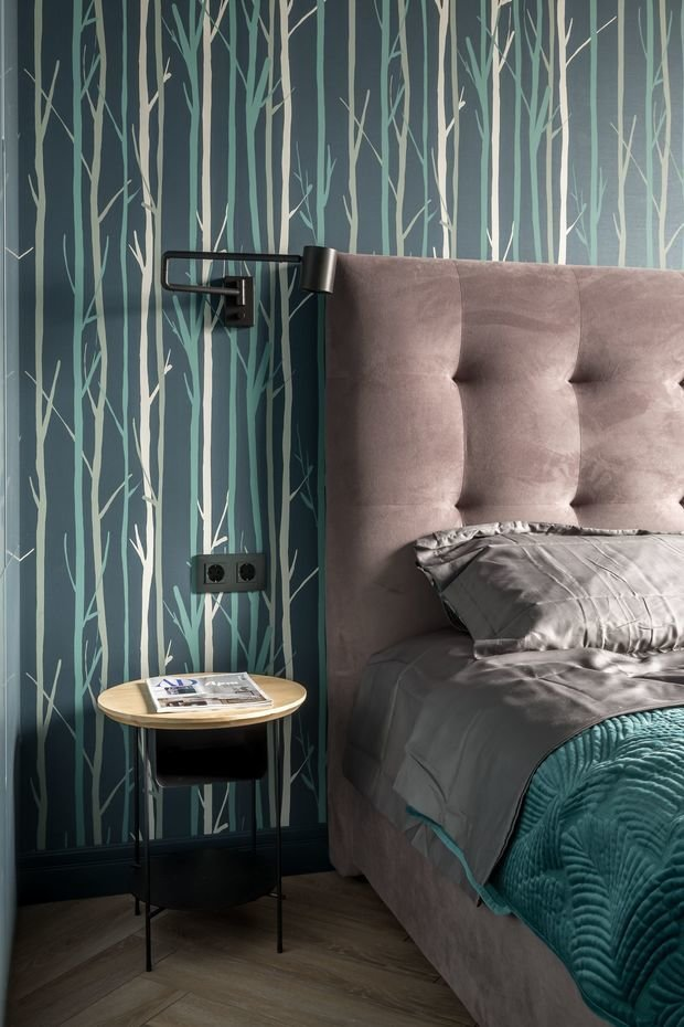Фотография: Спальня в стиле Современный, Квартира, Проект недели, Москва, Buro Brainstorm, 3 комнаты, 60-90 метров – фото на INMYROOM