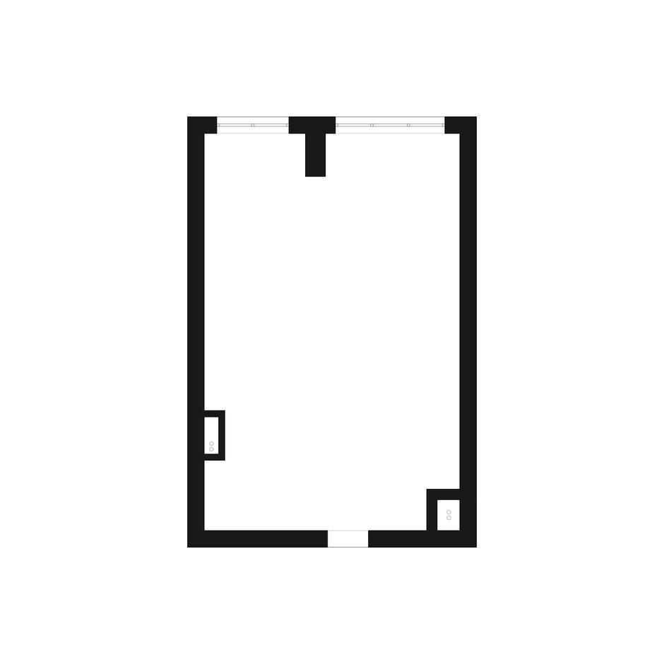 Фотография:  в стиле , Современный, Квартира, Студия, Минимализм, Проект недели, Монолитный дом, 40-60 метров, Батуми, Грузия, VAE design & architecture – фото на InMyRoom.ru