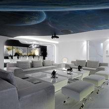 Фото из портфолио Идеи для ваших потолков... и стен ;) – фотографии дизайна интерьеров на InMyRoom.ru