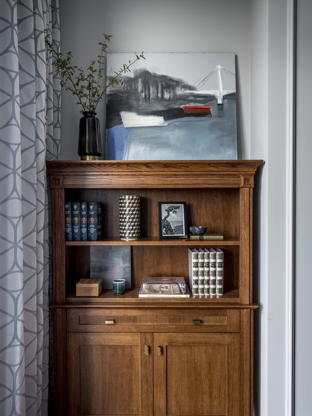 Фотография: Кабинет в стиле Классический, Современный, Квартира, Проект недели, Москва, 4 и больше, Более 90 метров, Anddesign – фото на INMYROOM