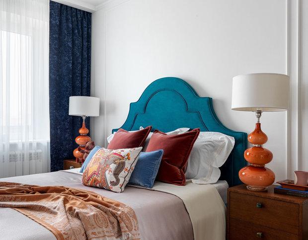 Фотография: Спальня в стиле Современный, Восточный, Эклектика, Togas, Спецпроект, Sensotex – фото на INMYROOM