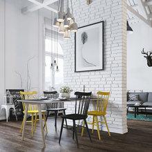 Фото из портфолио Скандинавский лофт – фотографии дизайна интерьеров на INMYROOM
