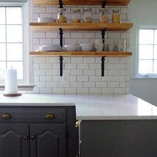 Фотография: Кухня и столовая в стиле Скандинавский, Современный, Классический, Мебель и свет, Переделка – фото на InMyRoom.ru