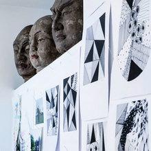 Фото из портфолио Пентхаус с уникальными предметами антиквариата и вещичками с блошиного рынка – фотографии дизайна интерьеров на INMYROOM