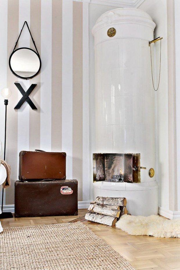 Фотография: Декор в стиле Скандинавский, Эклектика, Декор интерьера, Квартира, Мебель и свет, Белый, Бежевый – фото на InMyRoom.ru