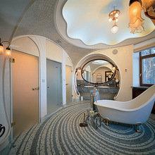 Фотография: Ванная в стиле Классический, Дом, Дизайн интерьера, Ар-нуво – фото на InMyRoom.ru