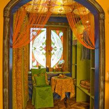 Фотография: Декор в стиле Восточный, Дизайн интерьера, Потолок – фото на InMyRoom.ru