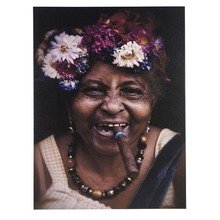 Холст 'Cuban lady'