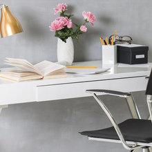 Фотография: Кабинет в стиле Современный, Декор интерьера, Офис, Советы – фото на InMyRoom.ru