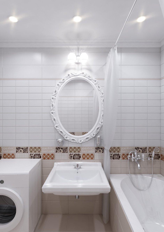 Фотография: Ванная в стиле Прованс и Кантри, Квартира, Дома и квартиры, IKEA, Проект недели, Деревенский – фото на InMyRoom.ru