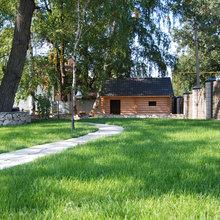 Фото из портфолио Благоустройство участка в поселке Горелый Хутор – фотографии дизайна интерьеров на InMyRoom.ru