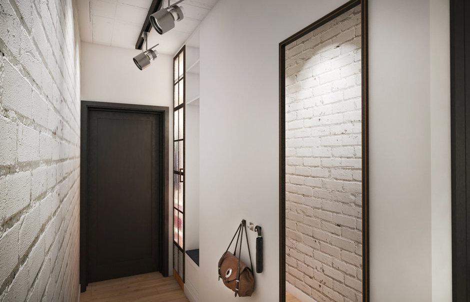 Фотография: Прихожая в стиле Лофт, Эклектика, Квартира, Проект недели, ИКЕА, Circle Line – фото на InMyRoom.ru