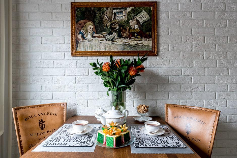 Фотография: Кухня и столовая в стиле Скандинавский, Квартира, Проект недели, Москва, Панельный дом, 2 комнаты, 40-60 метров, 1605, Наталья Широкорад – фото на InMyRoom.ru