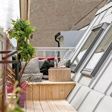 Фото из портфолио Квартира на чердаке на острове Кунгсхольмен – простота и незамысловатость тоже могут впечатлять!  – фотографии дизайна интерьеров на INMYROOM