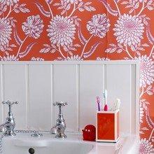 Фотография: Ванная в стиле , Интерьер комнат, Декоративная штукатурка – фото на InMyRoom.ru