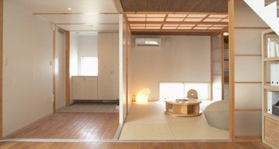 Фотография: Мебель и свет в стиле Восточный, Эко, Дом, Дома и квартиры, Япония – фото на InMyRoom.ru