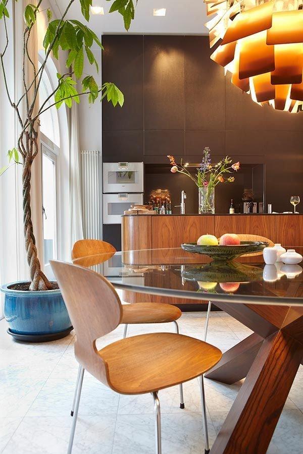Фотография: Кухня и столовая в стиле Лофт, Современный, Декор интерьера, Дизайн интерьера, Цвет в интерьере – фото на InMyRoom.ru