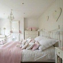 Фотография: Детская в стиле Кантри, Спальня, Интерьер комнат, Мебель и свет, Цвет в интерьере, Белый, Гардероб – фото на InMyRoom.ru