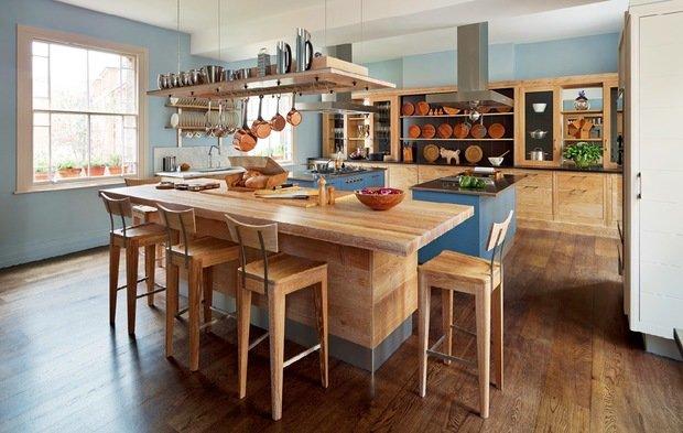 Фотография:  в стиле , Советы, как выбрать кухонный остров, идеи для кухонного острова, дизайн кухонного острова – фото на InMyRoom.ru