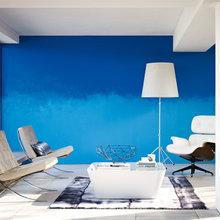 Фотография: Гостиная в стиле Минимализм, Декор интерьера, Дизайн интерьера, Цвет в интерьере, Dulux, ColourFutures, Akzonobel, Краски – фото на InMyRoom.ru
