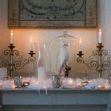Фотография: Декор в стиле Кантри, Дом, Дома и квартиры, Камин, Свечи – фото на InMyRoom.ru