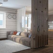 Фотография: Гостиная в стиле Современный, Декор интерьера, Квартира, Дома и квартиры, Проект недели, Ligne Roset – фото на InMyRoom.ru