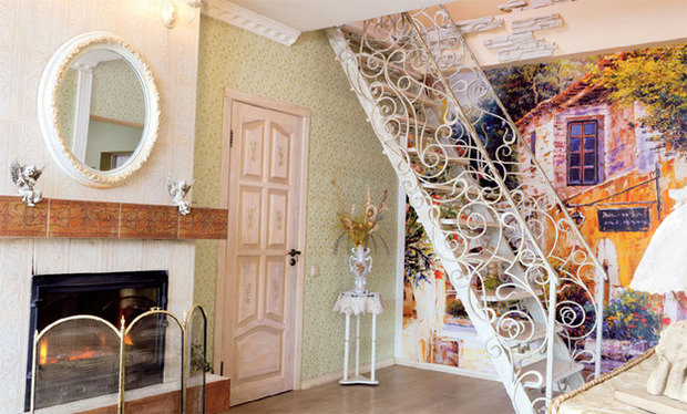 Фотография: Гостиная в стиле Прованс и Кантри, Декор интерьера, Декор дома, Прованс – фото на InMyRoom.ru