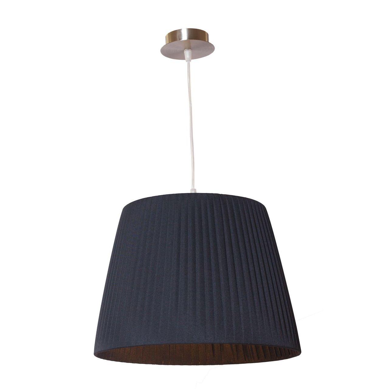 Купить Подвесной светильник артпром Katrin с черным абажуром, inmyroom, Россия