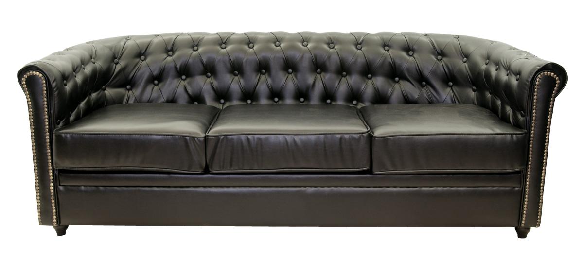Купить Кожаные диваны Karo Black, inmyroom, Китай