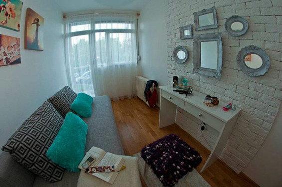 Фотография: Спальня в стиле Скандинавский, DIY, Малогабаритная квартира, Квартира, Дома и квартиры – фото на INMYROOM