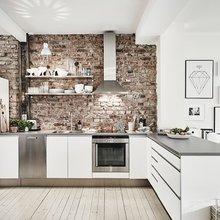 Фотография: Кухня и столовая в стиле Скандинавский, Декор интерьера, Квартира – фото на InMyRoom.ru