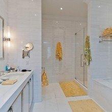 Фотография: Ванная в стиле Современный, Лофт, Декор интерьера, Квартира, Дома и квартиры, Большие окна – фото на InMyRoom.ru