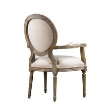 "Стул ""Vintage Louis Round Arm Chair"""