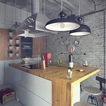 Фотография: Кухня и столовая в стиле Лофт, Квартира, Дома и квартиры, Индустриальный – фото на InMyRoom.ru