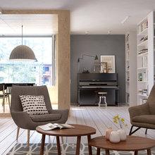 Фотография: Гостиная в стиле Скандинавский, Квартира, Дома и квартиры, IKEA, Проект недели – фото на InMyRoom.ru