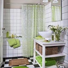 Фотография: Ванная в стиле Кантри, Классический, Современный, Декор интерьера, DIY, Дом, Системы хранения – фото на InMyRoom.ru