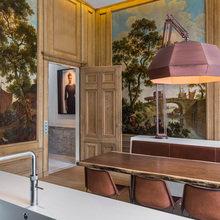 Фото из портфолио Потолок в гостиной- это шедевр дизайна – фотографии дизайна интерьеров на InMyRoom.ru