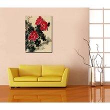 """Дизайнерская картина на холсте """"Экспрессивный цветок"""""""
