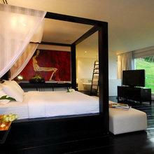 Фотография: Спальня в стиле Восточный, Дом, Тайланд, Дома и квартиры, Отель – фото на InMyRoom.ru