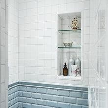Фотография: Ванная в стиле Скандинавский,  – фото на InMyRoom.ru