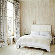 Фотография: Спальня в стиле Эклектика, Декор интерьера, DIY, Цвет в интерьере – фото на InMyRoom.ru