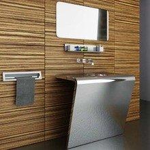 Фотография: Ванная в стиле Хай-тек, Декор интерьера, Интерьер комнат – фото на InMyRoom.ru