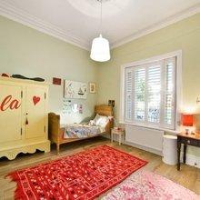 Фотография: Детская в стиле Кантри, Дом, Австралия, Цвет в интерьере, Дома и квартиры, Бассейн, Фасад – фото на InMyRoom.ru