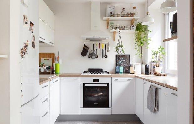 Фотография: Кухня и столовая в стиле Скандинавский, INMYROOM TV – фото на INMYROOM