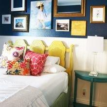 Фотография: Спальня в стиле Кантри, Освещение, Декор, Советы, Ремонт на практике – фото на InMyRoom.ru