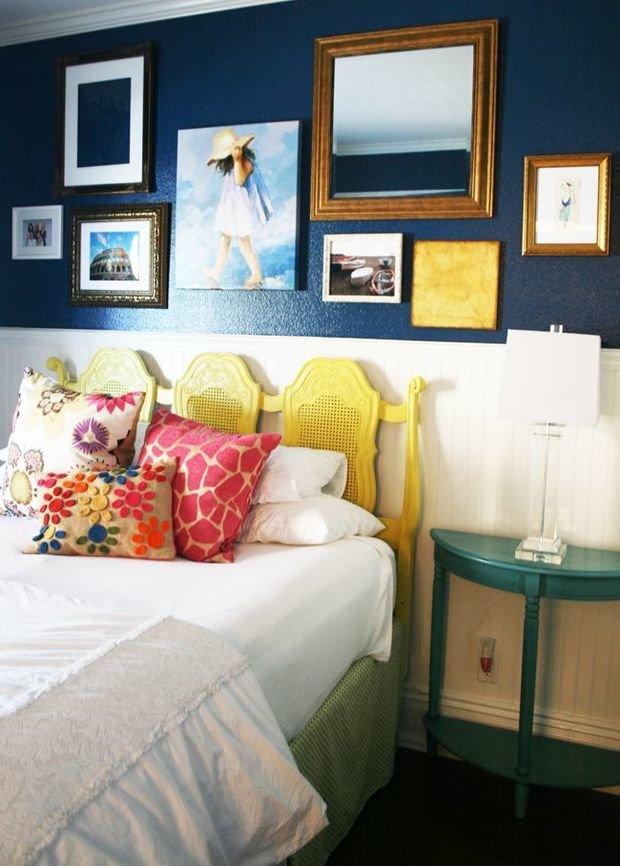 Фотография: Спальня в стиле Прованс и Кантри, Освещение, Декор, Советы, Ремонт на практике – фото на InMyRoom.ru