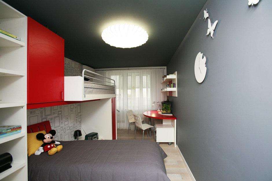 Фотография: Детская в стиле Хай-тек, Квартира, Дома и квартиры, Перепланировка, Ремонт – фото на InMyRoom.ru