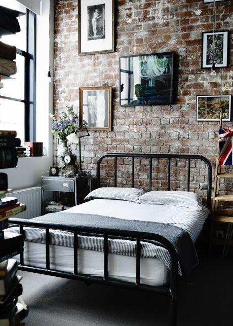 Фотография: Спальня в стиле Лофт, Дизайн интерьера, Декор, Индустриальный – фото на InMyRoom.ru