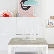 Фотография:  в стиле Скандинавский, Современный, Декор интерьера, Мебель и свет, IKEA, Переделка – фото на InMyRoom.ru