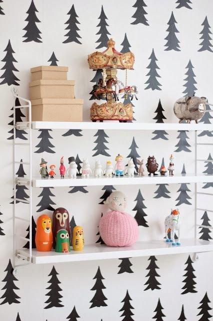 Фотография: Декор в стиле Современный, Детская, Декор интерьера, Интерьер комнат, Обои – фото на InMyRoom.ru